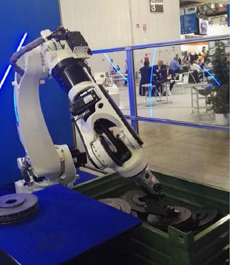 Tiesse Robot bin picking